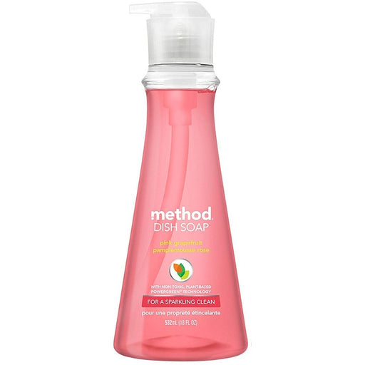 METHOD DISH WASH PUMP PINK GRAPEFRUIT 532ML
