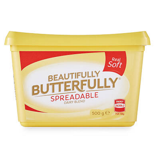 Beautifully Butterfully Spreadable Dairy Blend 500G