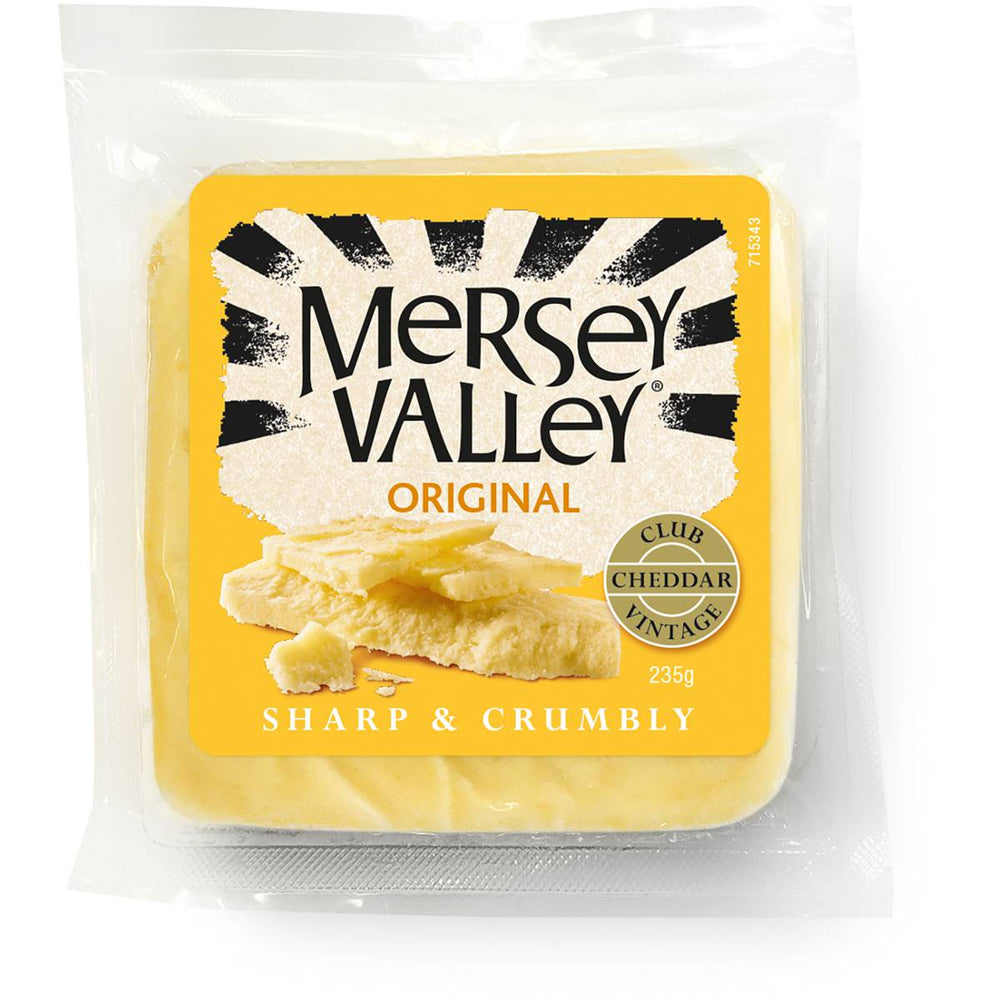 Mersey Valley Cheese Original 235G