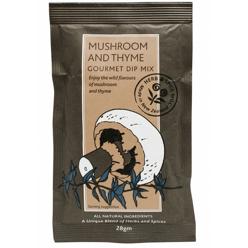 MUSHROOM & THYME HERB AND SPICE MILL DIP MIX 28G