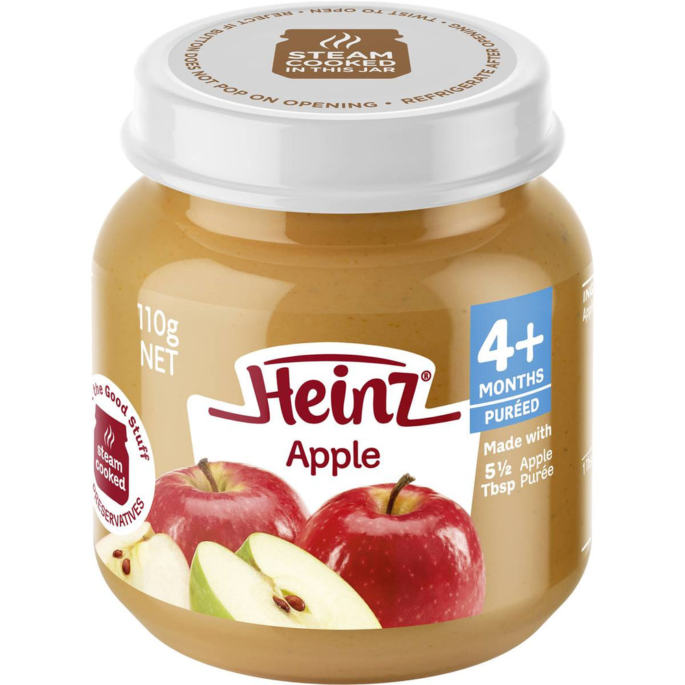 Heinz Baby Food Jar Apple 110G