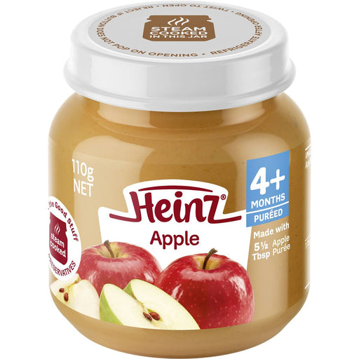 Heinz Baby Food Jar Apple 110Gm