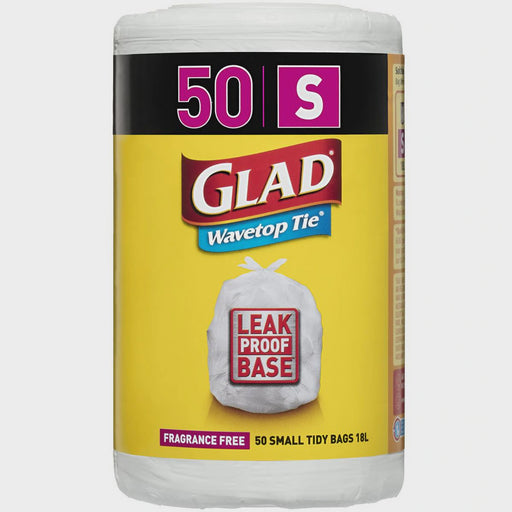 GLAD KITCHEN TIDY BAG SMALL - ROLL OF 50