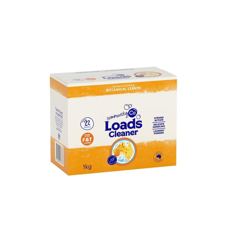 Community Co Lemon Laundry Powder 1Kg