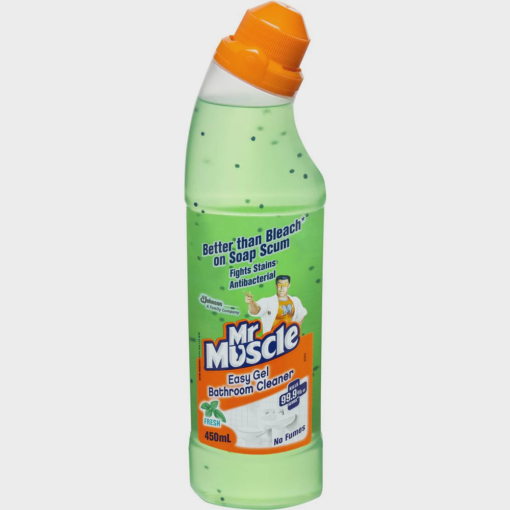 MR MUSCLE 450ML EASY GEL BATHROOM CLEANER CITRUS