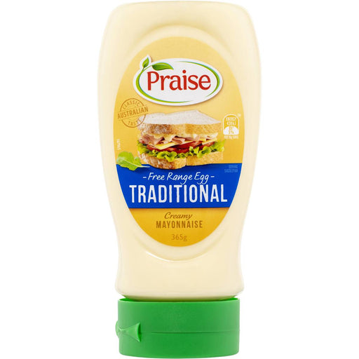 Praise Traditional Creamy Mayonnaise 370Ml/365G