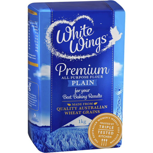 WHITE WINGS PLAIN FLOUR 1KG