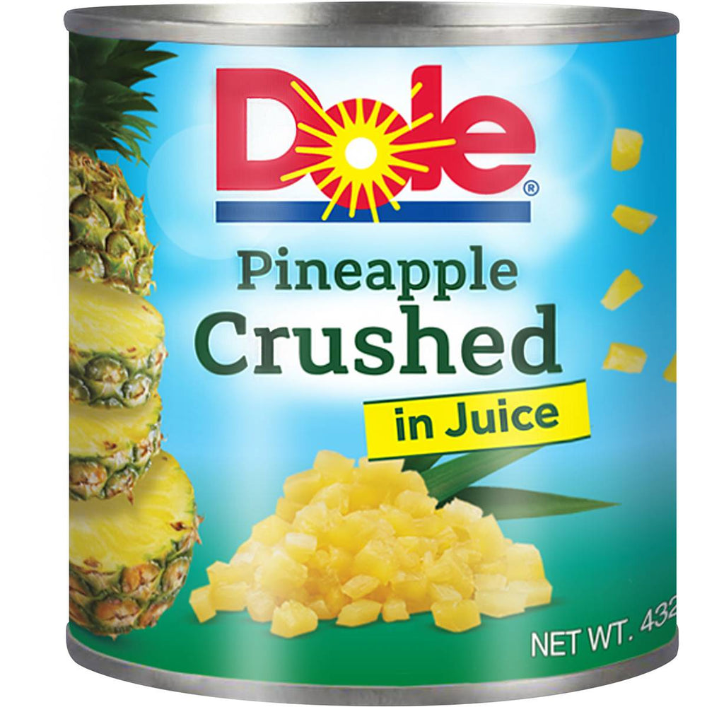 DOLE PINEAPPLE CRUSHED IN JUICE 432G