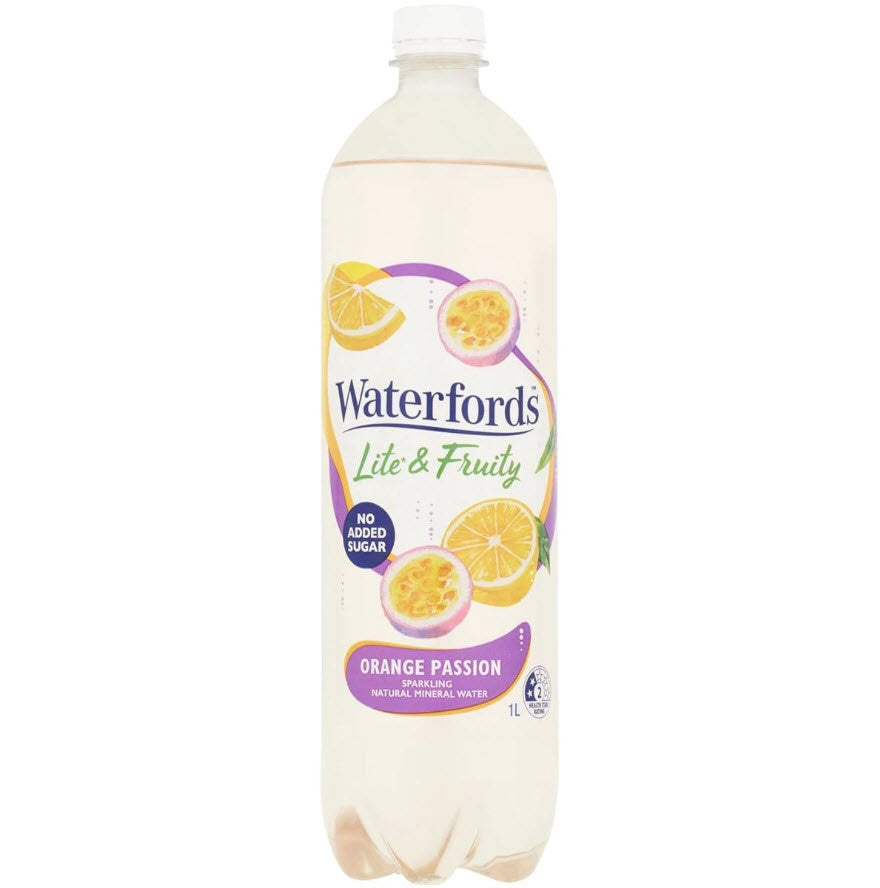 WATERFORDS LITE AND FRUITY - 1L ORANGE PASSION