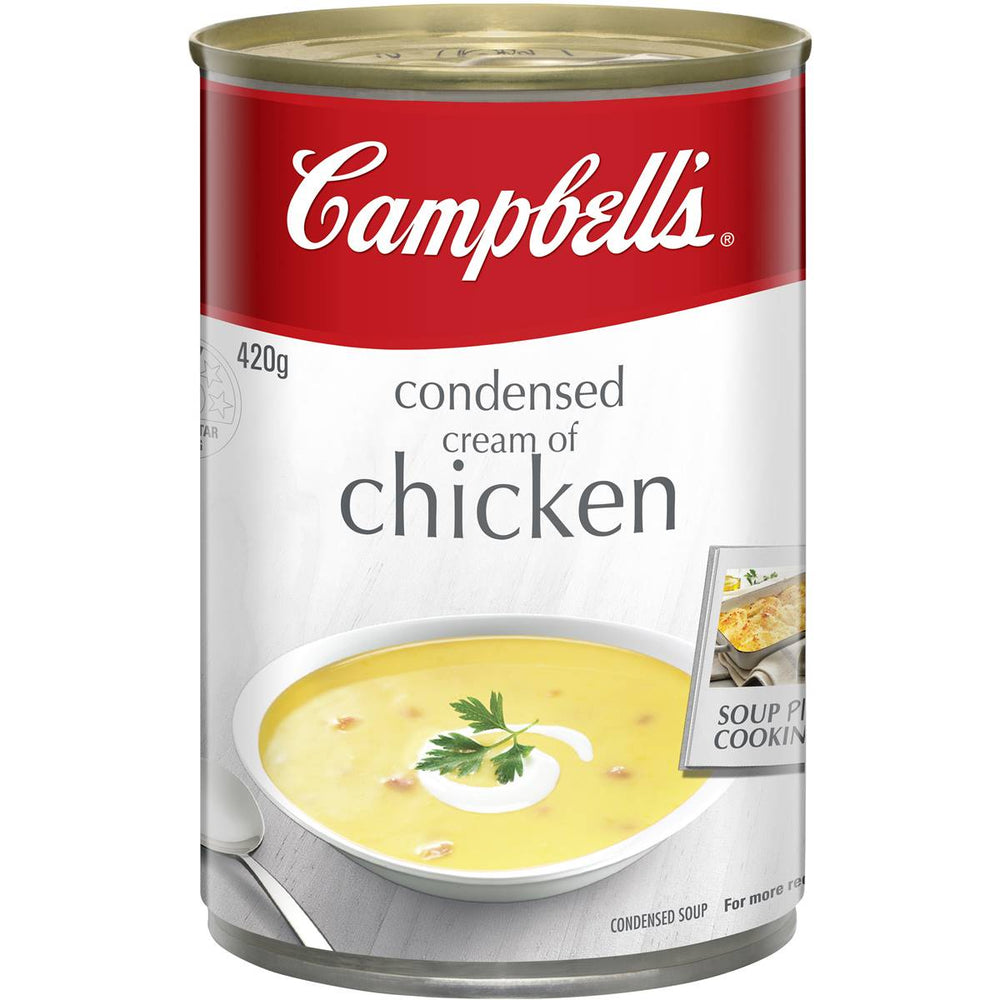Campbells Condensed Soup Cream Of Chicken 420G