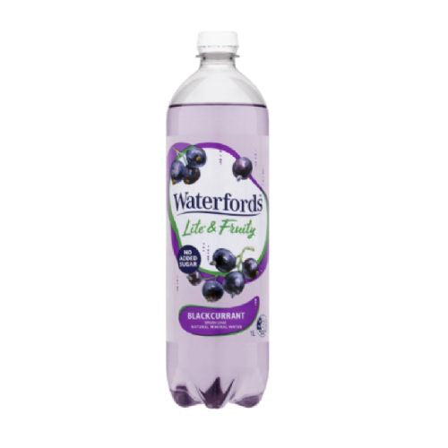 WATERFORDS LITE AND FRUITY - 1L BLACKCURRANT