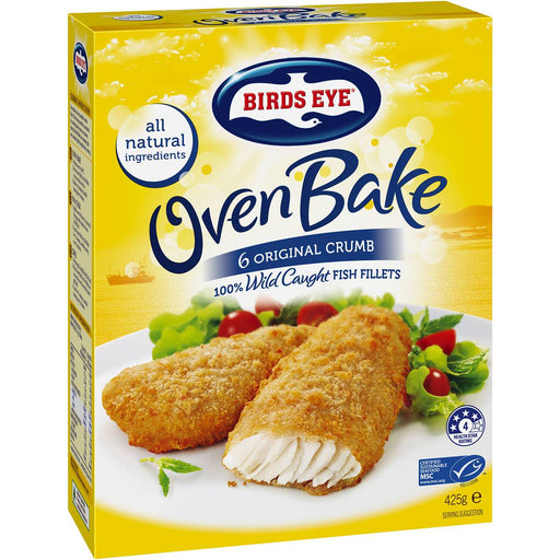 Birds Eye Oven Bake Original Crumb 425G