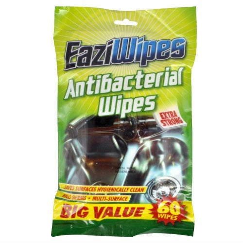 Antibacterial Wipes 16X 20Cm 60Pk