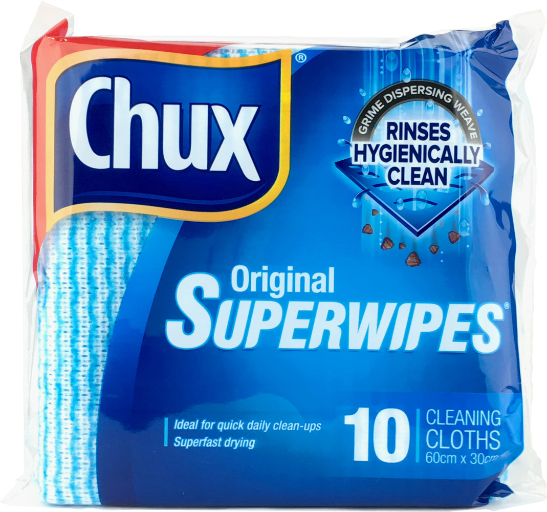 CHUX SUPER WIPES REGULAR 10S