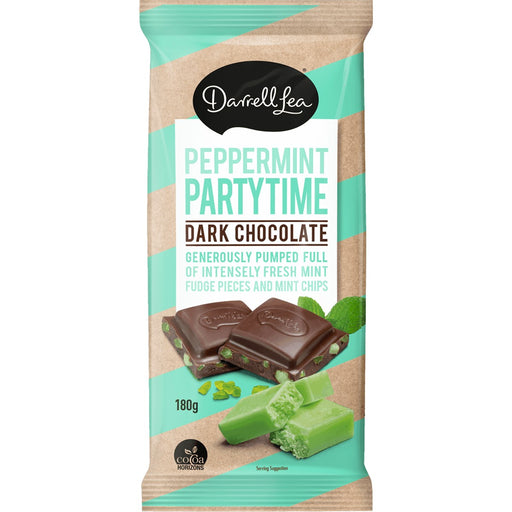 DARRELL LEA PEPPERMINT PARTYTIME CHOCOLATE BLOCK 180G