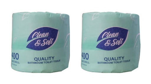 Clean & Soft Toilet Tissue Paper Roll 3Ply 48Pk