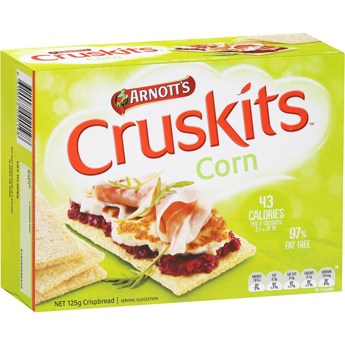 ARNOTTS CRUSKITS CORN 125G