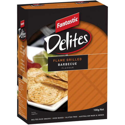 Fantastic Delites Flame Grilled Barbeque 100G