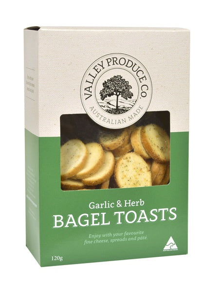 VPC GARLIC & HERB BAGEL TOASTS