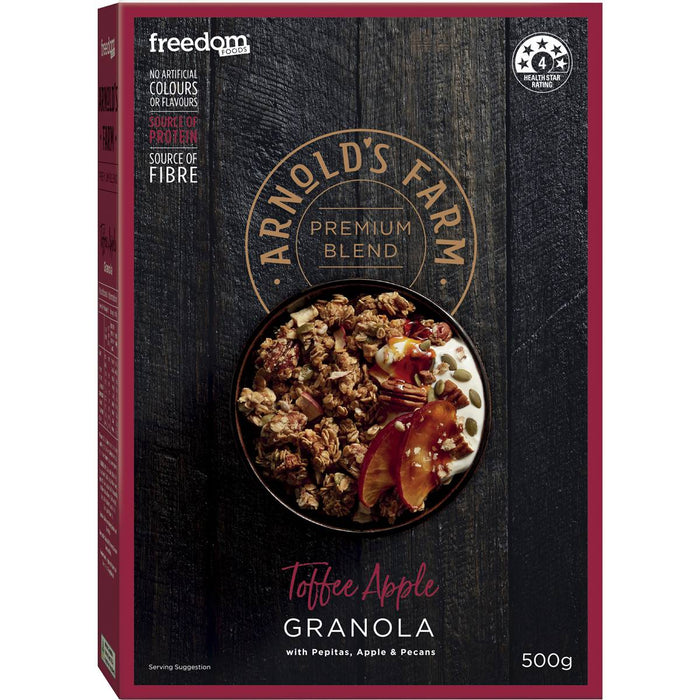 Arnolds Farm Toffee Apple Granola 500G