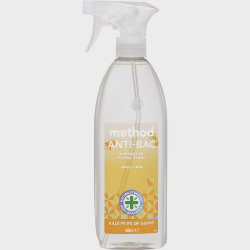 Method Anti-Bac Kitchen Cleaner Sunny Citrus 490ml