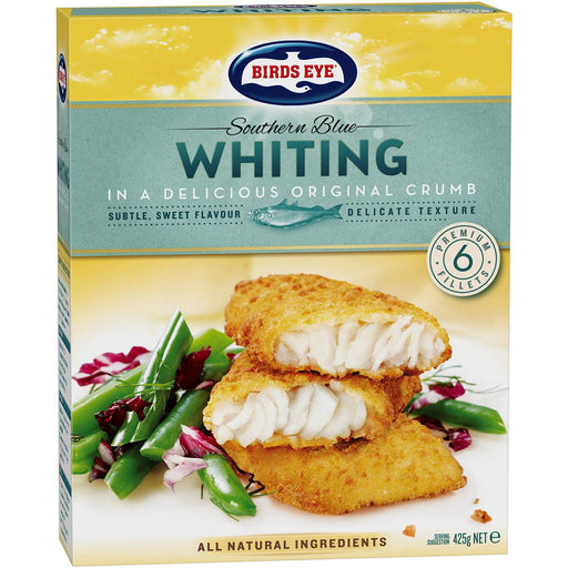 BIRDS EYE SOUTHERN BLUE WHITING ORIGINAL CRUMBED 425G