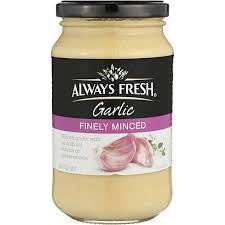 Always Fresh Garlic Finely Minced 220G