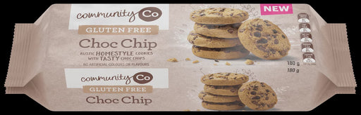 COMMUNITY CO GLUTEN FREE CHOC CHIP BISCUITS