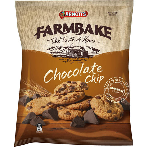 Arnotts Farmbake Cookies Chocolate Chip 350G