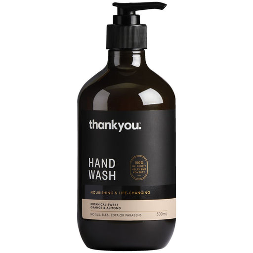 Thank You Hand Wash Orange And Almond 500Ml