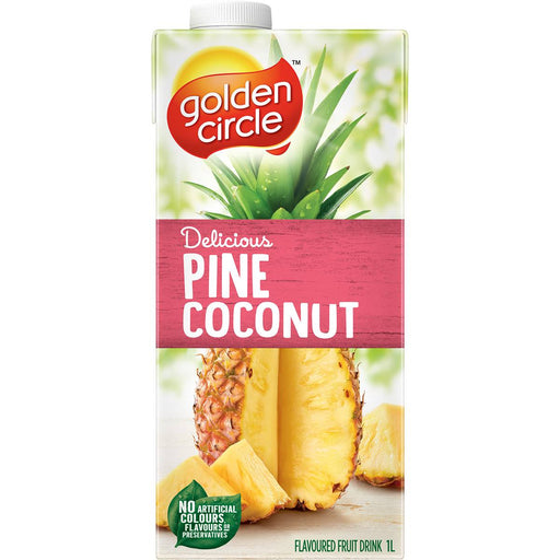 GOLDEN CIRCLE JUICE 1L PINE COCONUT