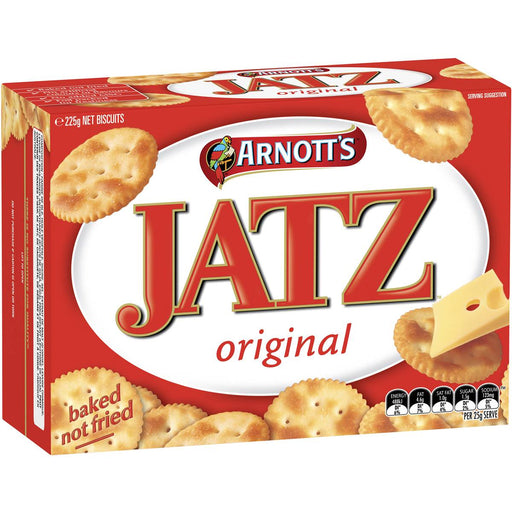 Arnotts Jatz Crackers 225G