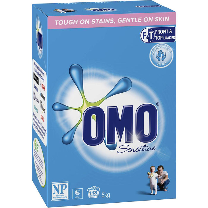Omo Laundry Powder Sensitive F & T 5Kg