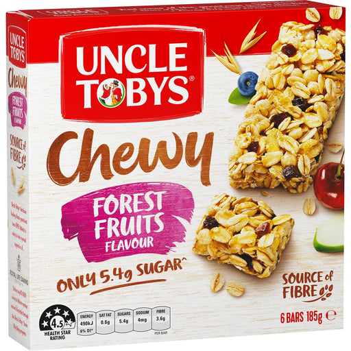 Uncle Tobys Chewy Forest Fruits Muesli Bars