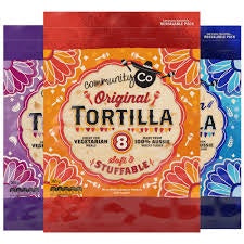 COMMUNITY CO TORTILLAS ORIGINAL 8PK