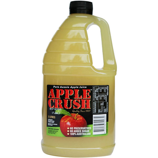 Cedar Creek Cloudy Apple Crush Juice 2L