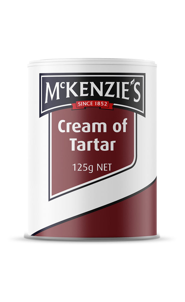 Mckenzies Cream Of Tartar 125G