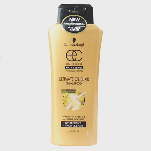 Schwarzkopf X Care Ultimate Oil Elixir Shampoo 400Ml