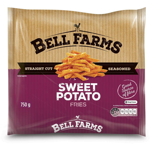 BELL FARMS SWEET POTATO CHIPS 750G