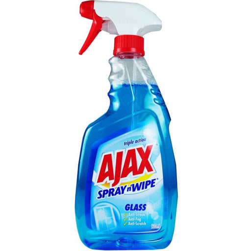 AJAX SPRAY N WIPE GLASS CLEANER 500 ML
