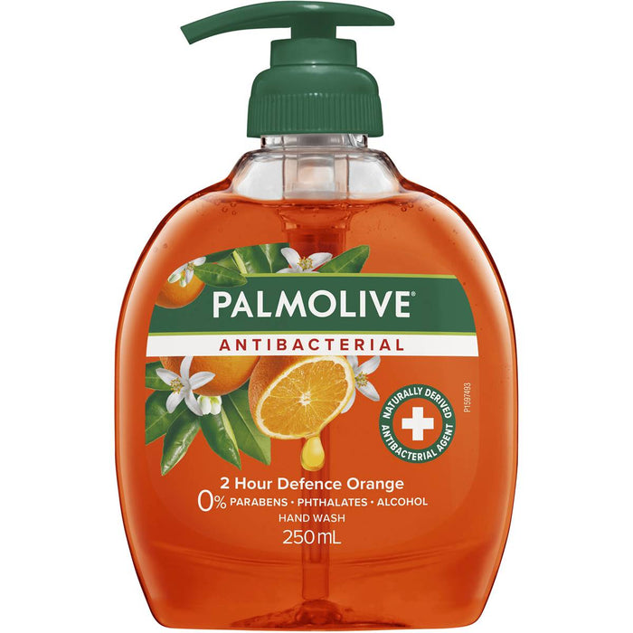 Palmolive Hand Wash Pump Antibacterial Orange 250Ml