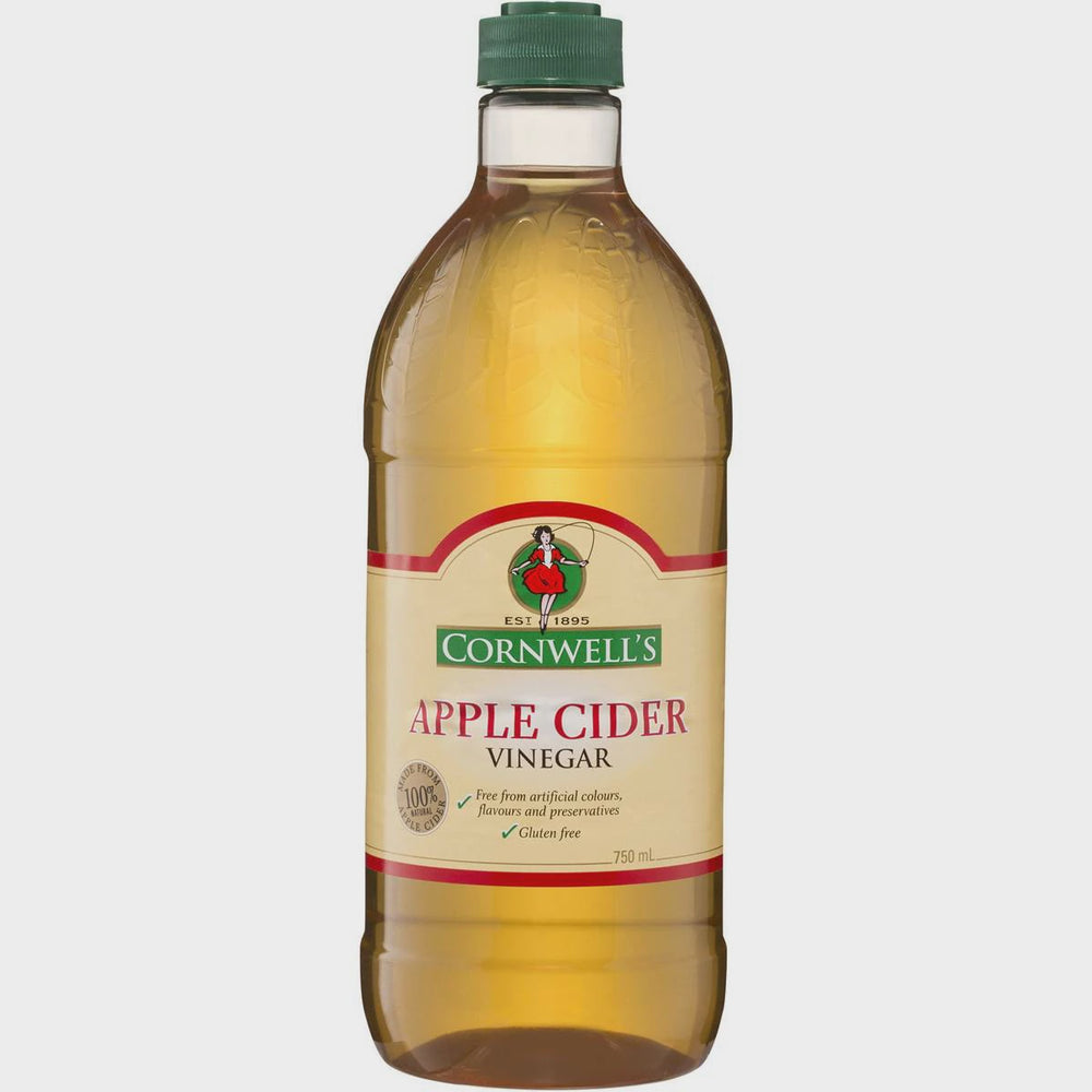 CORNWELLS APPLE CIDER VINEGAR 750ML