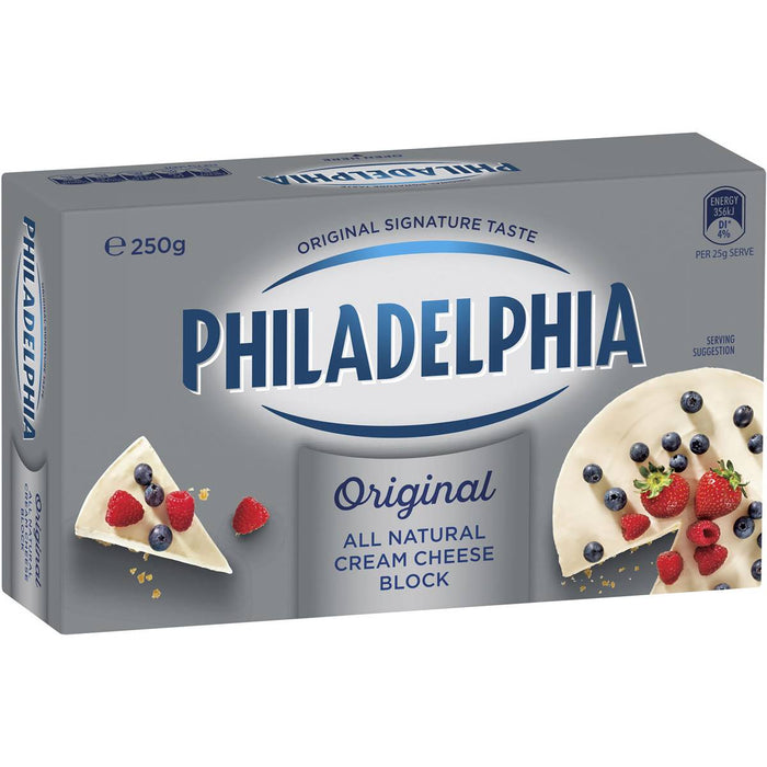 PHILADELPHIA CREAM CHEESE ORIGINAL BLOCK 250GM
