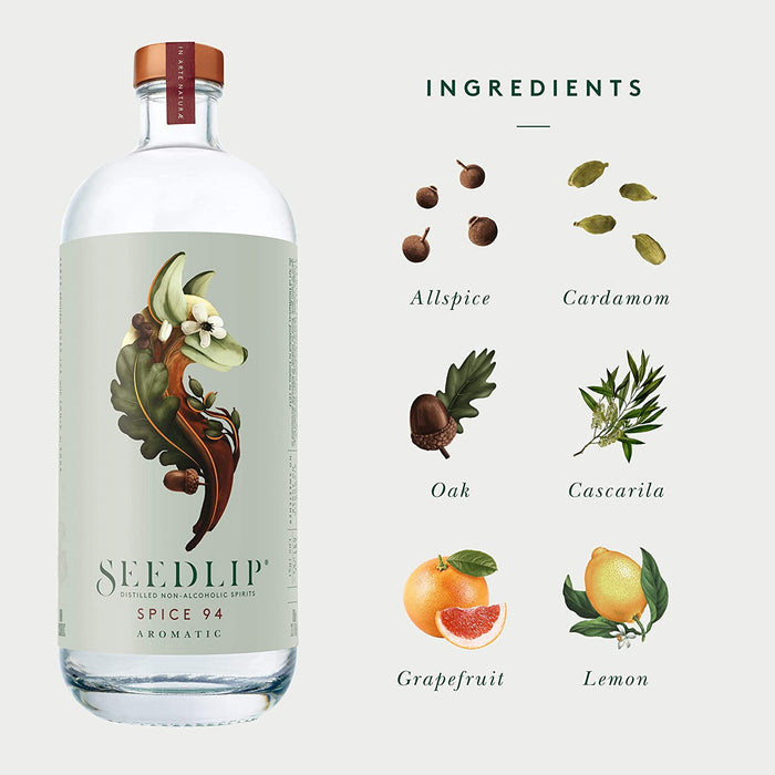 Seedlip Spice 94 Non Alcholic Spirit 700Ml