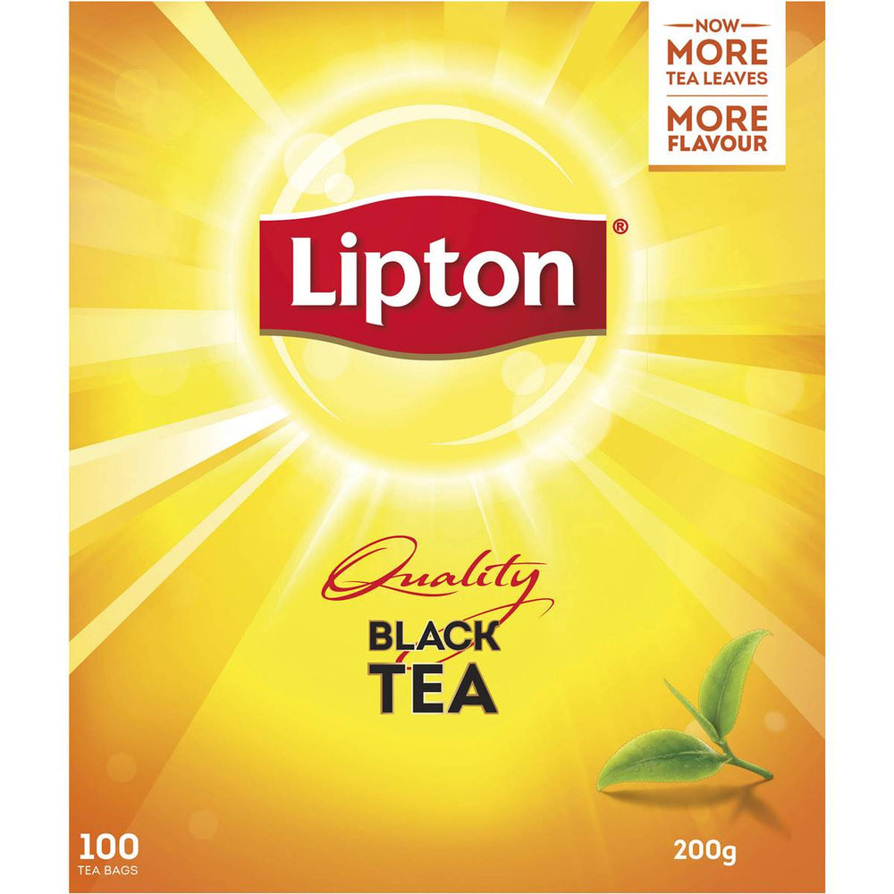 LIPTONS QUALITY BLACK TEA 100 PACK