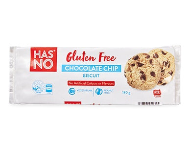 Has No Chocolate Chip Cookies Gluten Free 180G