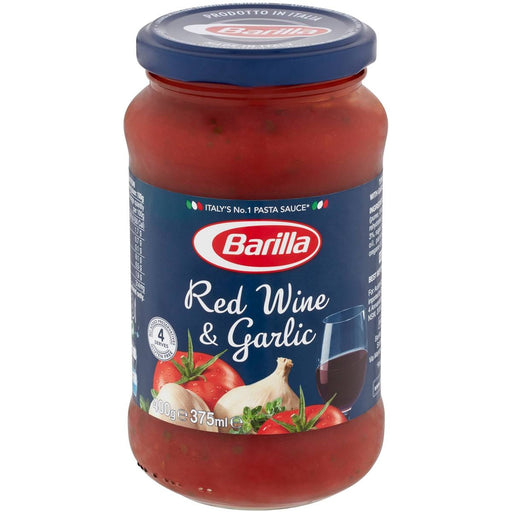 BARILLA RED WINE & GARLIC SAUCE 400G