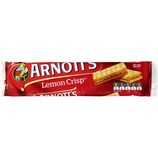 Arnotts Lemon Crisp 250G