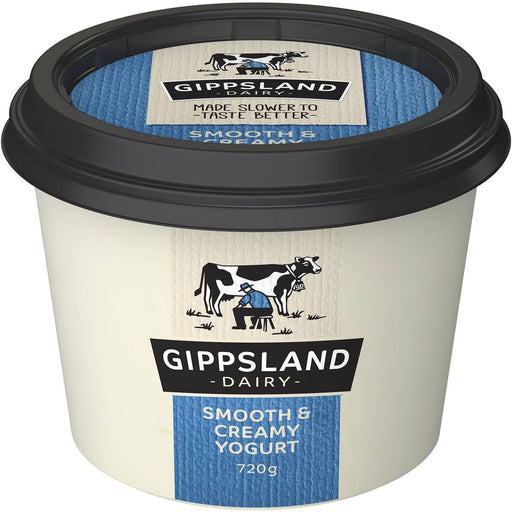 Gippsland Dairy Yoghurt Smooth And Creamy 720G