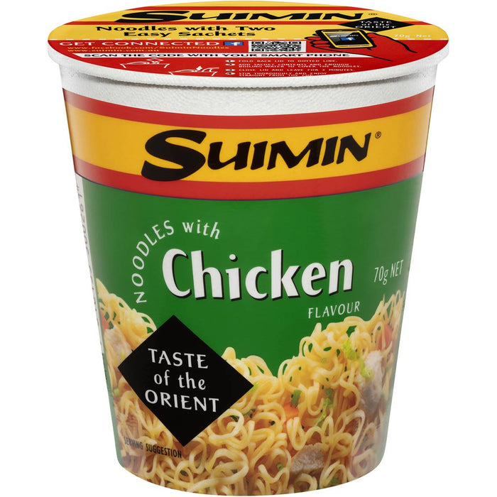SUIMIN CHICKEN NOODLE CUP 70GM